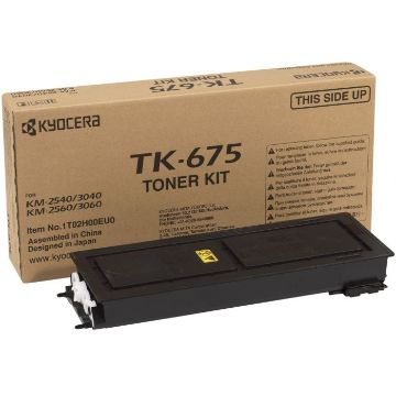 Kyocera TK-675 Black Toner Cartridge