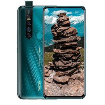 "Tecno Camon 15 Premier- 6.6"",128GB+6GB (Dual SIM),64MP"